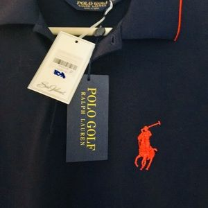 NWT Big Pony Ralph Lauren Golf Polo w/ Spell-out